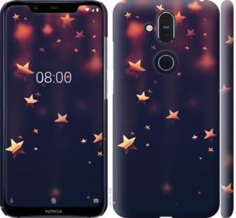 Чехол на Nokia 8.1 Падающие звезды