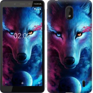 Чехол на Nokia 1 Plus Арт-волк