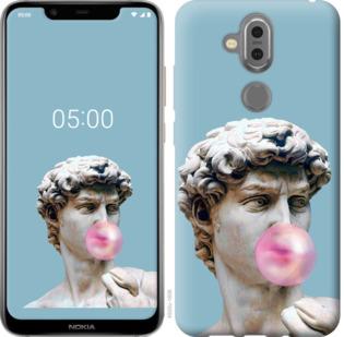 Чехол на Nokia 7.1 Plus Микеланджело