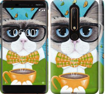 Чехол на Nokia 6.1 CatandCoffee