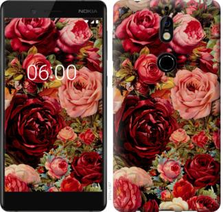 Чехол на Nokia 7 Цветущие розы
