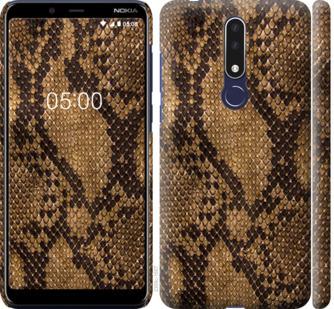 Чехол на Nokia 3.1 Plus Змеиная кожа