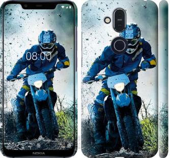 Чехол на Nokia 8.1 Мотокросс