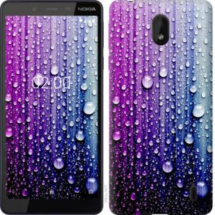 Чехол на Nokia 1 Plus Капли воды