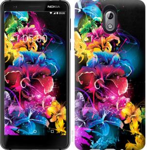 Чехол на Nokia 3.1 Абстрактные цветы