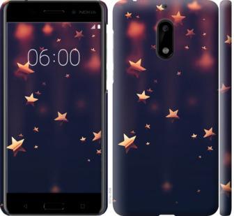 Чехол на Nokia 6 Падающие звезды