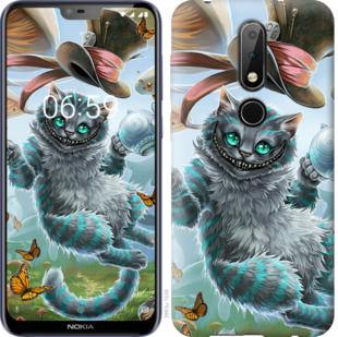 Чехол на Nokia 6.1 Plus Чеширский кот 2