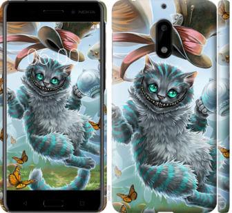Чехол на Nokia 6 Чеширский кот 2