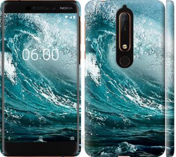 Чехол на Nokia 6 2018 Морская волна