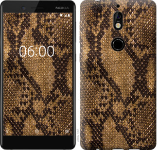 Чехол на Nokia 7 Змеиная кожа