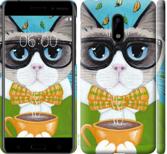 Чехол на Nokia 6 CatandCoffee