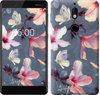 Чехол на Nokia 7 Нарисованные цветы