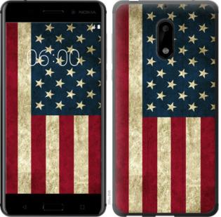 Чехол на Nokia 6 Флаг США