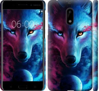 Чехол на Nokia 6 Арт-волк