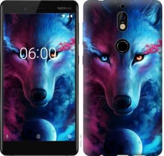 Чехол на Nokia 7 Арт-волк