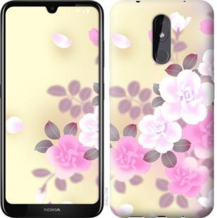 Чехол на Nokia 3.2 Японские цветы