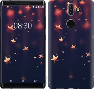 Чехол на Nokia 8 Sirocco Падающие звезды