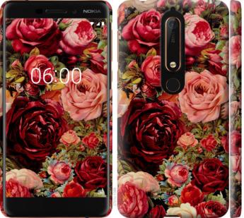 Чехол на Nokia 6.1 Цветущие розы