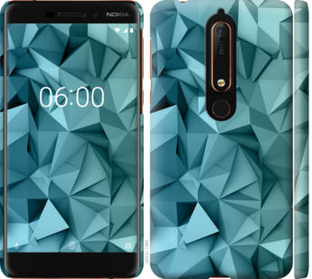 Чехол на Nokia 6 2018 Геометрический узор v2