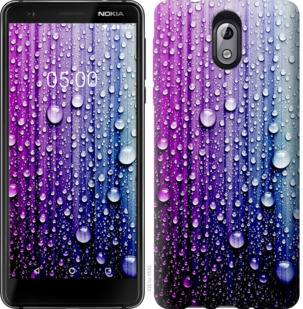 Чехол на Nokia 3.1 Капли воды