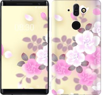 Чехол на Nokia 8 Sirocco Японские цветы