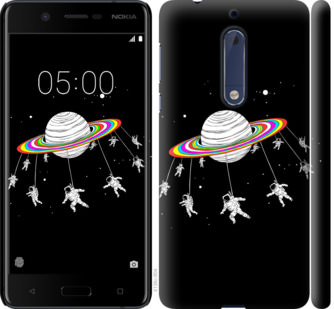 Чехол на Nokia 5 Лунная карусель