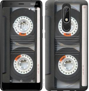 Чехол на Nokia 5.1 Кассета
