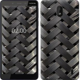 Чехол на Nokia 1 Plus Металлические фоны