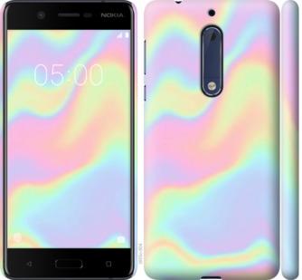 Чехол на Nokia 5 пастель - 2