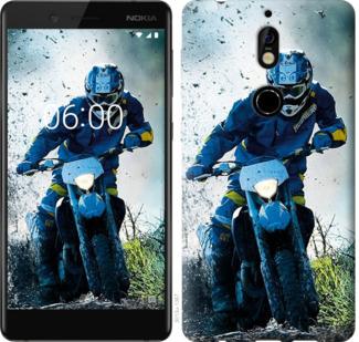 Чехол на Nokia 7 Мотокросс