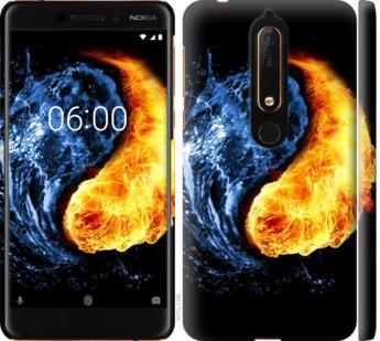 Чехол на Nokia 6.1 Инь-Янь