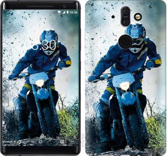 Чехол на Nokia 8 Sirocco Мотокросс