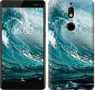 Чехол на Nokia 7 Морская волна