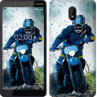 Чехол на Nokia 1 Plus Мотокросс