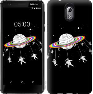 Чехол на Nokia 3.1 Лунная карусель