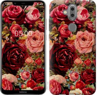 Чехол на Nokia 7.1 Plus Цветущие розы