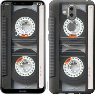 Чехол на Nokia 7.1 Plus Кассета