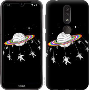 Чехол на Nokia 4.2 Лунная карусель