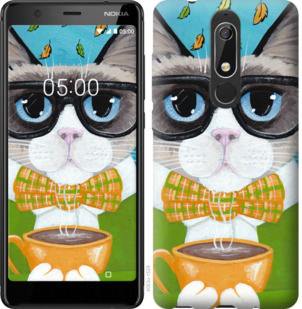 Чехол на Nokia 5.1 CatandCoffee