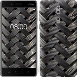 Чехол на Nokia 8 Металлические фоны