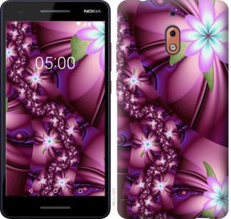 Чехол на Nokia 2.1 Цветочная мозаика