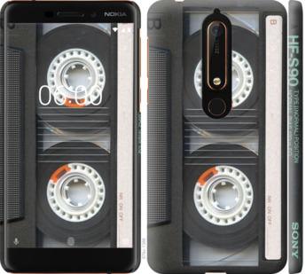 Чехол на Nokia 6.1 Кассета
