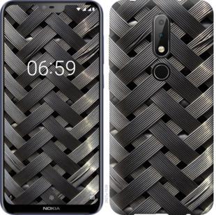 Чехол на Nokia 6.1 Plus Металлические фоны