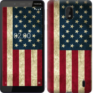Чехол на Nokia 1 Plus Флаг США