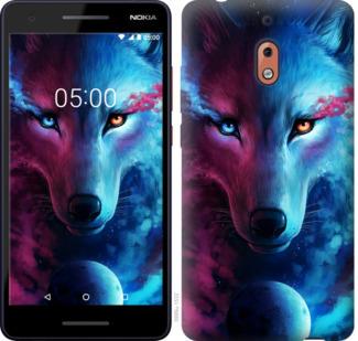 Чехол на Nokia 2.1 Арт-волк