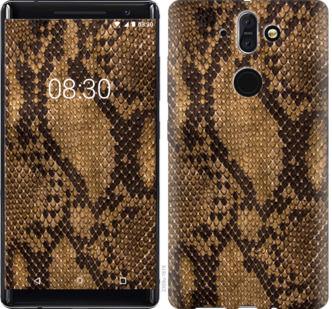 Чехол на Nokia 8 Sirocco Змеиная кожа