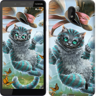 Чехол на Nokia 1 Plus Чеширский кот 2