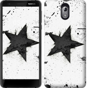 Чехол на Nokia 3.1 Звезда