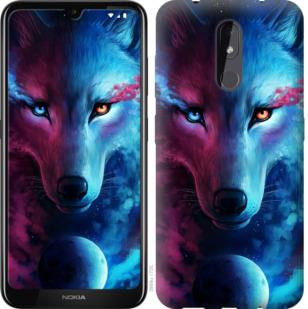 Чехол на Nokia 3.2 Арт-волк