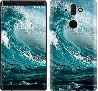 Чехол на Nokia 8 Sirocco Морская волна